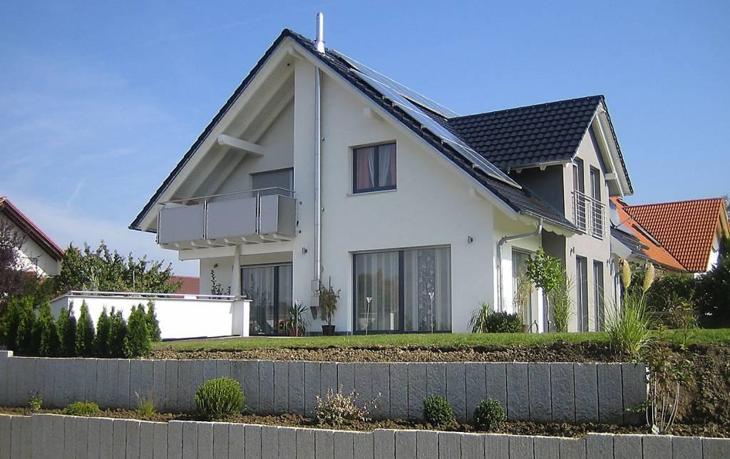 Einfamilienhaus neubau mit erker  Einfamilienhaus in Bisingen, Meisenweg