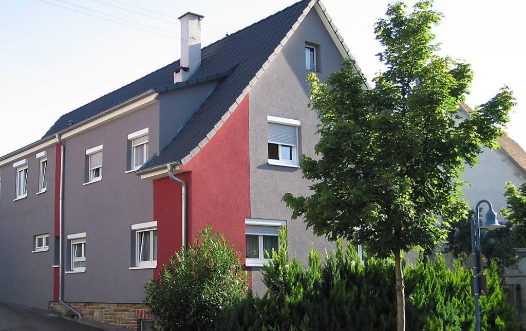 Fassadengestaltung Einfamilienhaus Bilder einfamilienhaus in steinhofen balinger straße